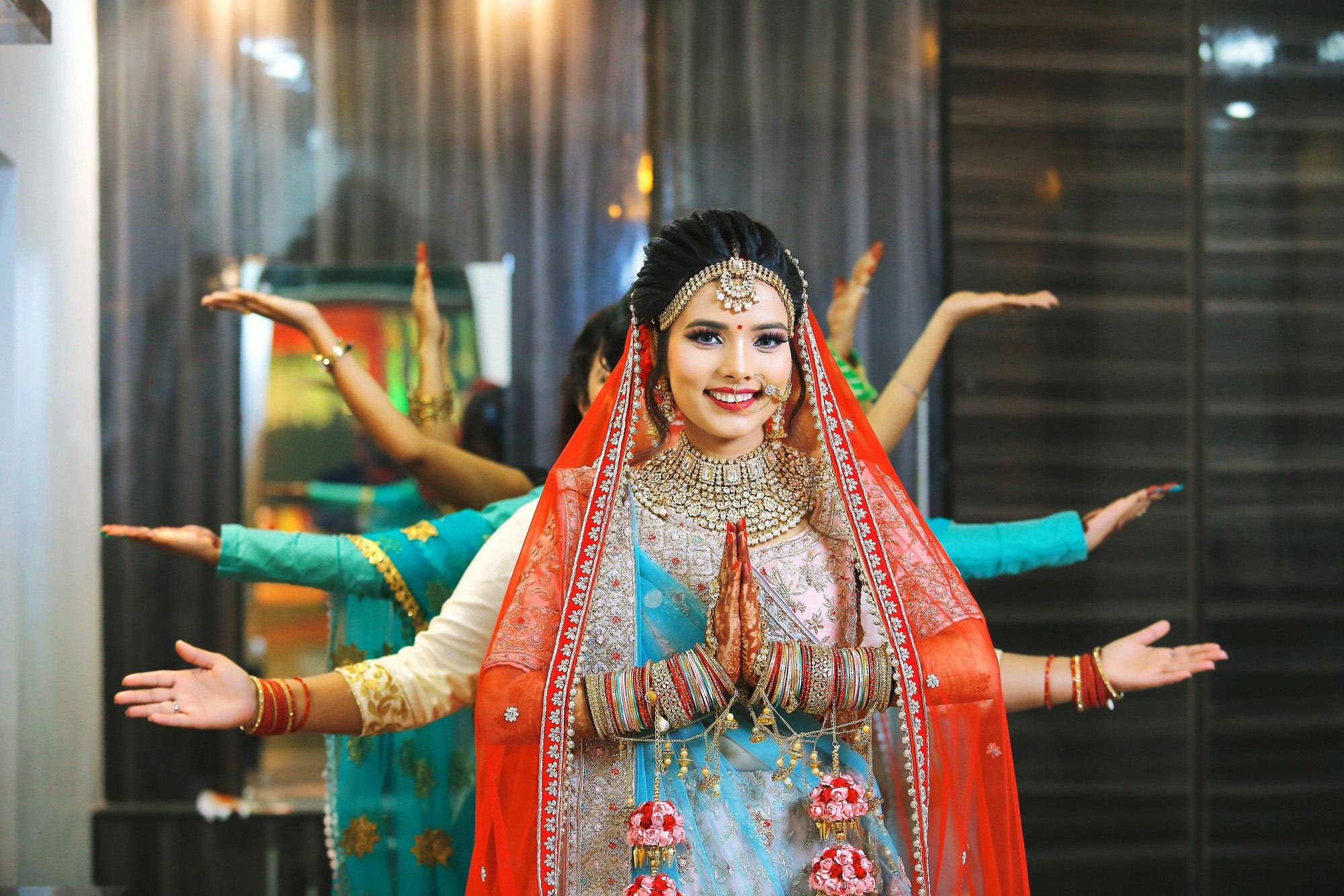 Bridal Group Photography