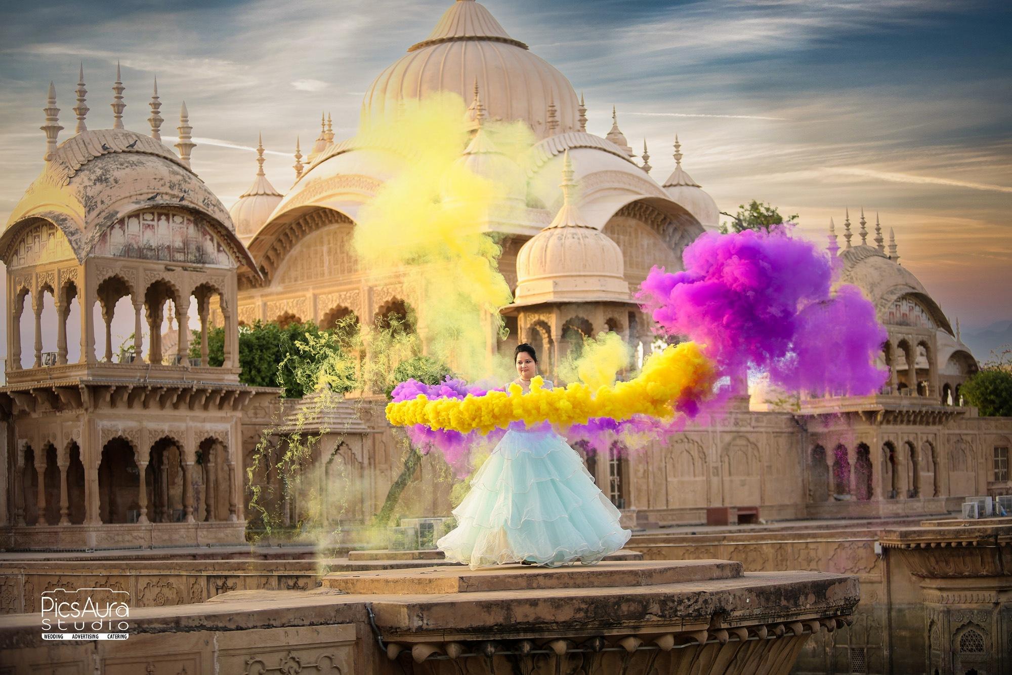 pre wedding photography at Kusum Sarovar