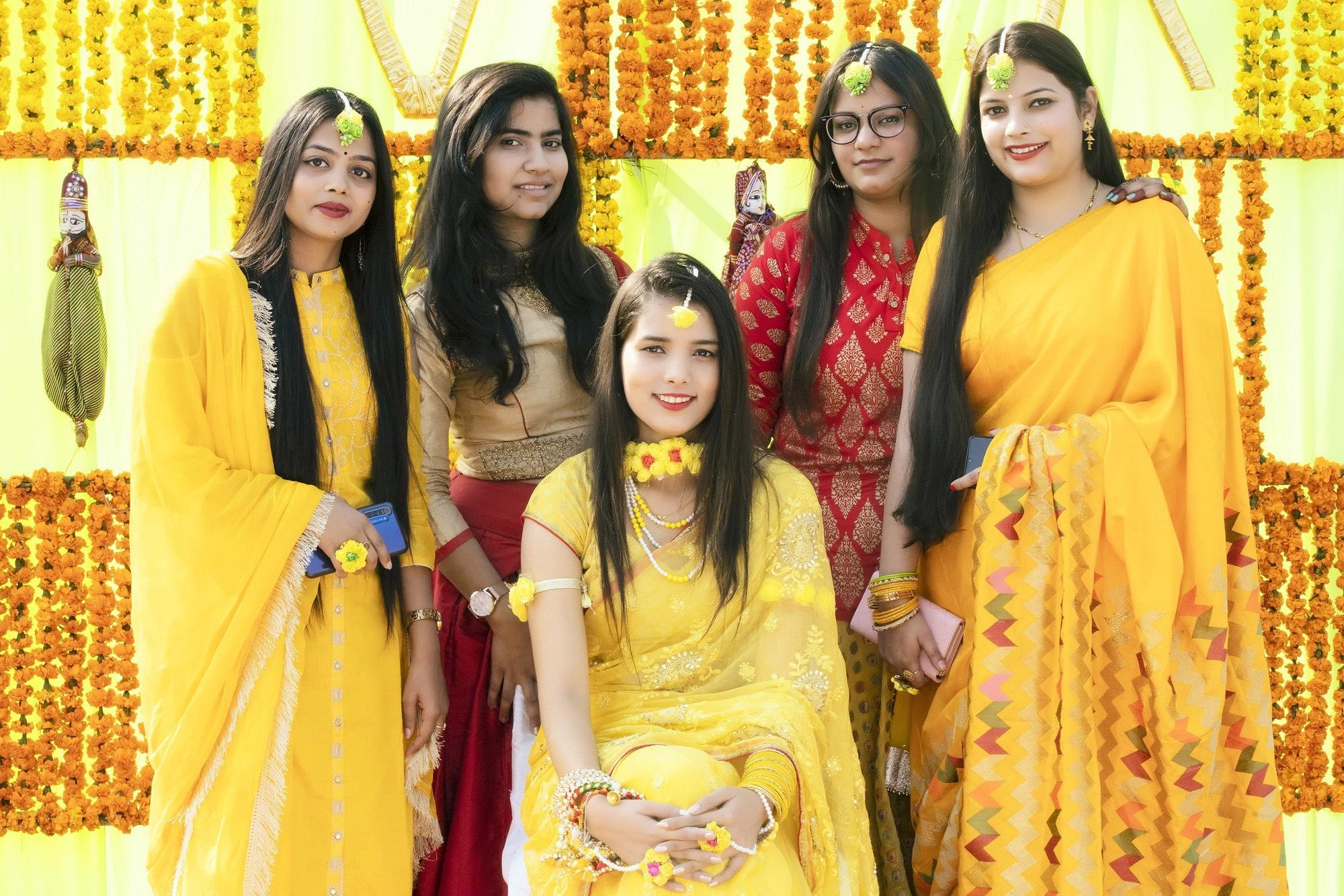 Haldi ceremony photography